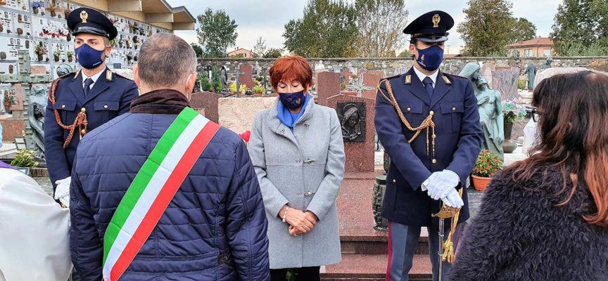 è stata celebrata la commemorazione nel 44° anniversario delI'omicidio, DI Bruno lucchesi