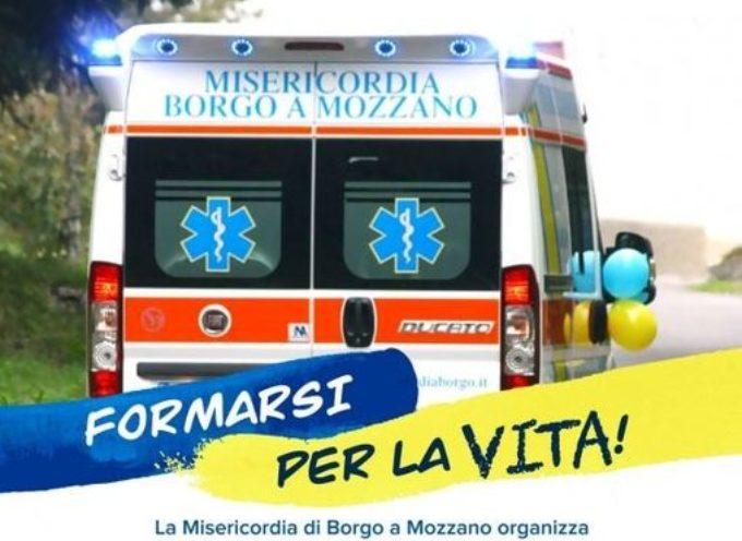 SOSPESA LA LEZIONE DEL CORSO DI PRIMO SOCCORSO DELLA MISERICORDIA DI BORGO A MOZZANO.