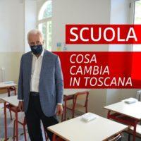 Sulla scuola, in Toscana, ci muoveremo così: