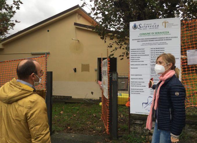 aperto il cantiere per la ristrutturazione della scuola dell'infanzia di Basati,