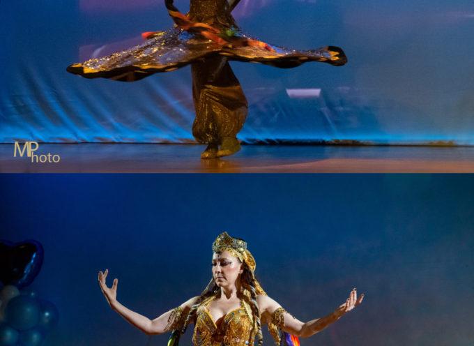 La danza tanoura – protagonista al finissage della mostra Viaggi straordinari di Aldo Mondino a Villa Bertelli Forte dei Marmi