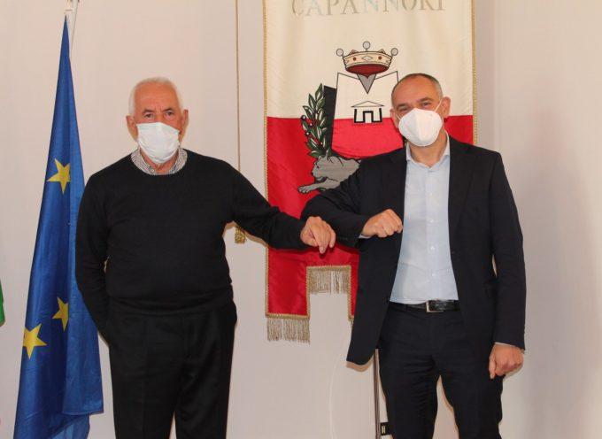 il sindaco Luca Menesini ha incontrato nella sede comunale Olivo Ghilarducci, ex sindaco di Capannori,