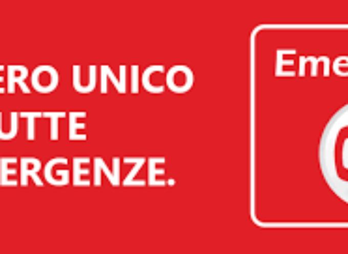 Numero unico di emergenza europeo 112 anche in Toscana dal primo dicembre