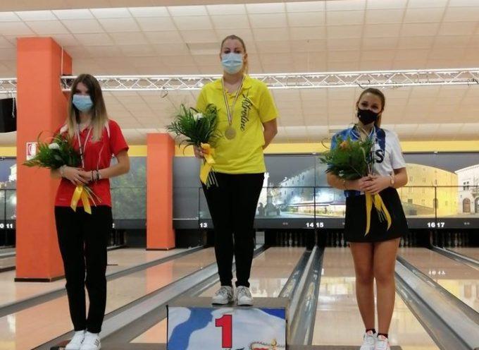 Il bowling lucchese sugli scudi in Emilia Romagna con la conquista del titolo tricolore di Roberta D'Elia nel Campionato Italiano di Singolo.