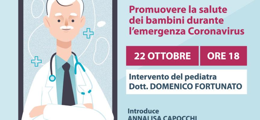 Seminario sulla salute dei bambini durante il Covid: interviene il pediatra Domenico Fortunato