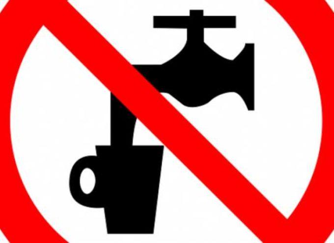 Divieto momentaneo di utilizzare l'acqua del rubinetto per usi potabili nelle frazioni di Deccio di Brancoli e di Tramonte