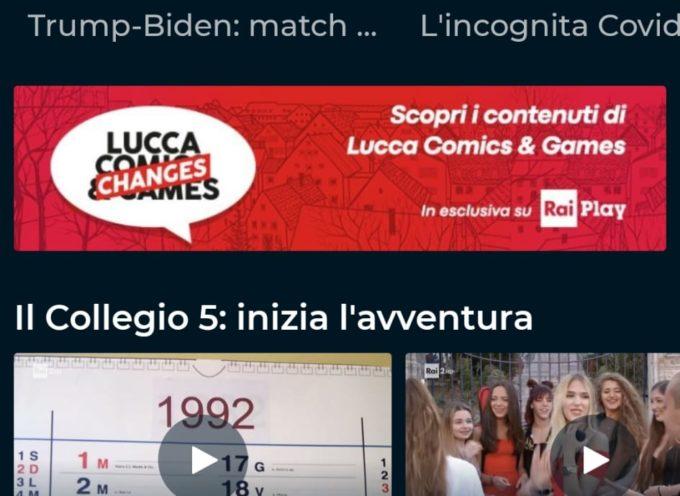 Lucca Comics & Games – Edizione Changes – Su RaiPlay il festival protagonista per 4 mesi