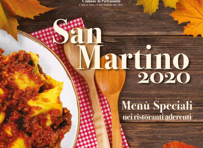 PIETRASANTA – Tradizioni: San Martino resiste nei ristoranti (a pranzo),