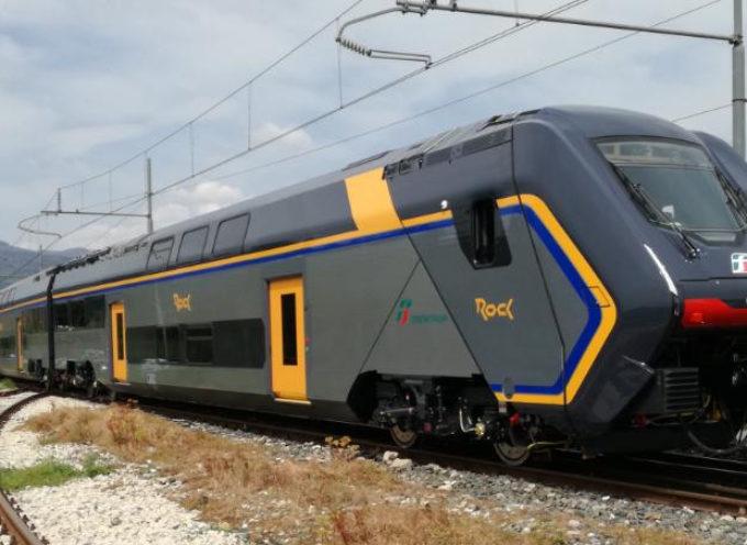 """Arrivato il quarto Rock. Baccelli: """"Entro il 2021 saranno 15 i treni di ultimissima generazione in servizio"""""""