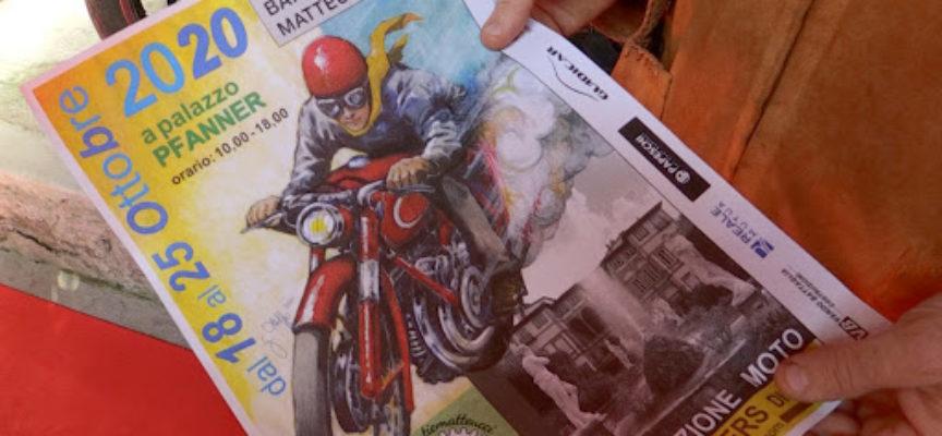 Una bella mostra su moto e scooters d'epoca a palazzo Pfanner