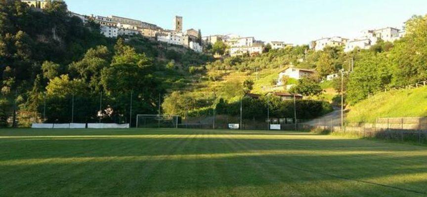 """Restyling completo per l'impianto sportivo """"G. Roni"""" di Coreglia Antelminelli."""