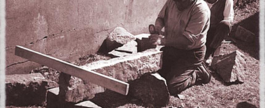 Gli antichi mestieri: lo scalpellino.
