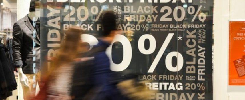 Black Friday, sei italiani su 10 hanno intenzione di fare acquisti