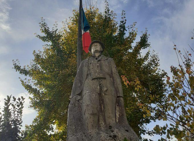 Cerimonia ad Oneta in onore ai caduti di tutte le guerre al paracadutista Daniele Matelli