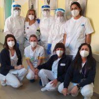 Sono arrivati i primi pazienti nelle due nuove aree Covid attivate all'ospedale di Barga