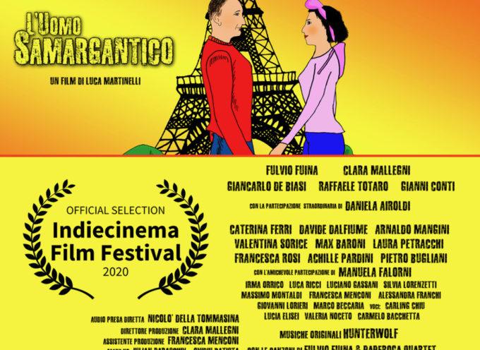 """Ancora una nomination (la seconda in pochi giorni) per Il film """"L'Uomo Samargantico del regista versiliese Luca Martinelli"""