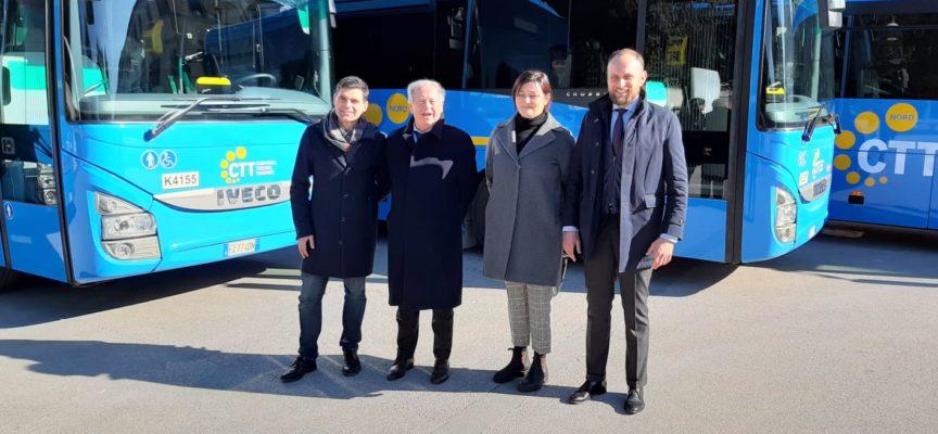 entro il 2023 bus elettrici sulle Lam