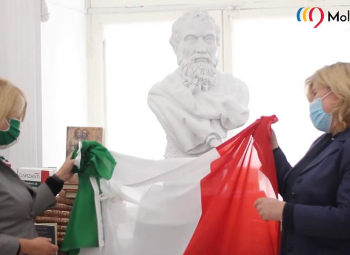 La Fondazione Del Bianco ha donato un'opera alla Biblioteca Nazionale moldava