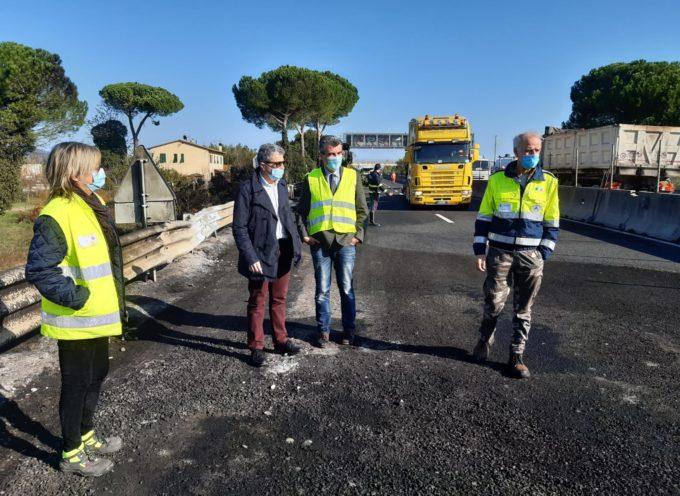 "Cisterna in fiamme in Fi-Pi-Li, Baccelli: ""Stasera strada di nuovo percorribile in sicurezza"""