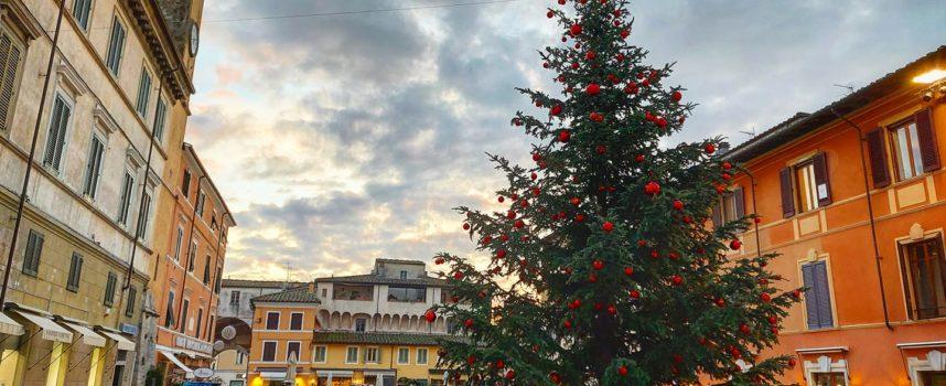l'incanto di Pietrasanta, diretta Instagram anti-Covid per l'accensione del grande abete di Piazza Duomo