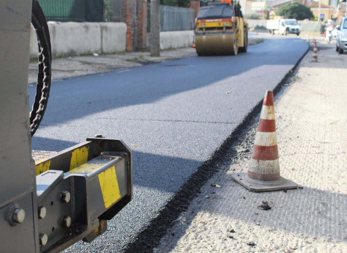 in sicurezza anche manto di via Leopardi, divieto di transito dal 30 novembre e fino al termine dei lavori