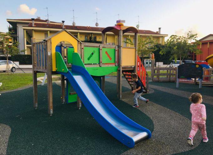 Inaugurato il nuovo parco giochi inclusivo di Lunata