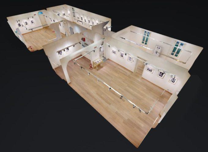 Villa Bertelli in un tour virtuale della mostra Contro la guerra.