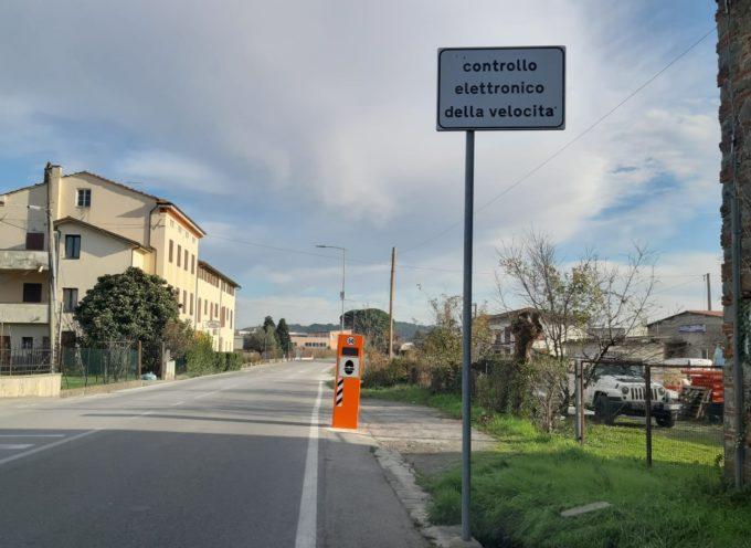 Sicurezza stradale, in arrivo sei misuratori di velocità a Porcari