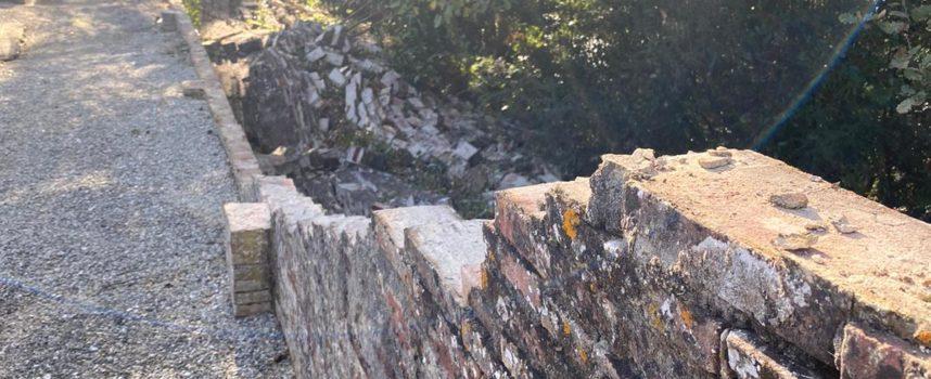 CHIUSURA TEMPORANEA DEL CIMITERO DI SAN MARTINO IN COLLE PER IL CEDIMENTO DI UNA PORZIONE DI MURO