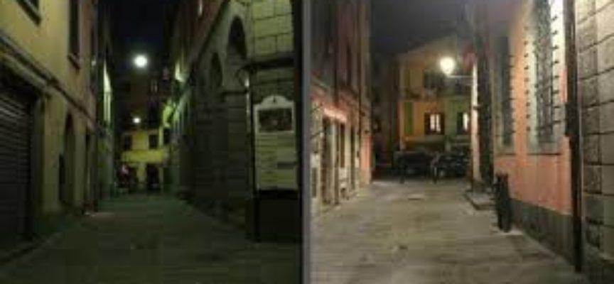 Si rinnova l'antica illuminazione pubblica a Castelnuovo Garfagnana