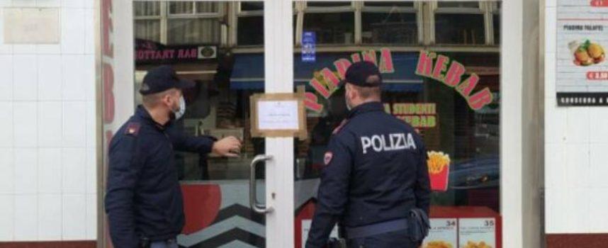 Risse, spacciatori e assembramenti: chiuso kebab al Varignano