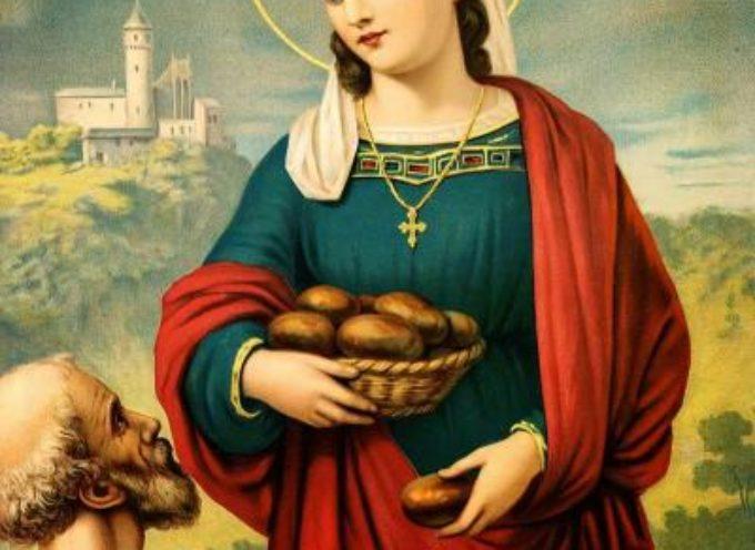 Il Santo del giorno, 17 Novembre: S. Elisabetta d'Ungheria, Patrona di infermieri, fornai,