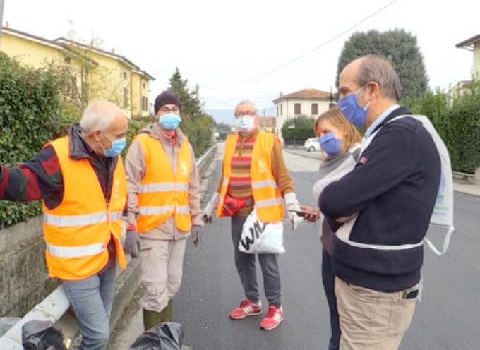 Il covid non ferma i volontari per l'iniziativa Sabato dell'Ambiente
