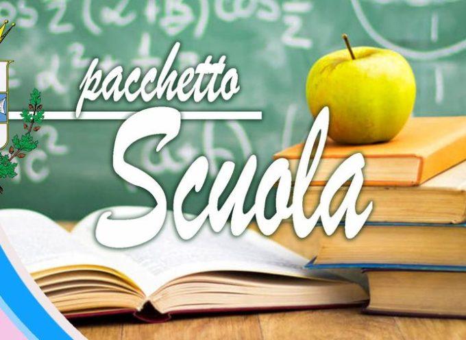 """Erogazione dell'intervento """"Pacchetto Scuola""""anno scolastico 2020/21."""