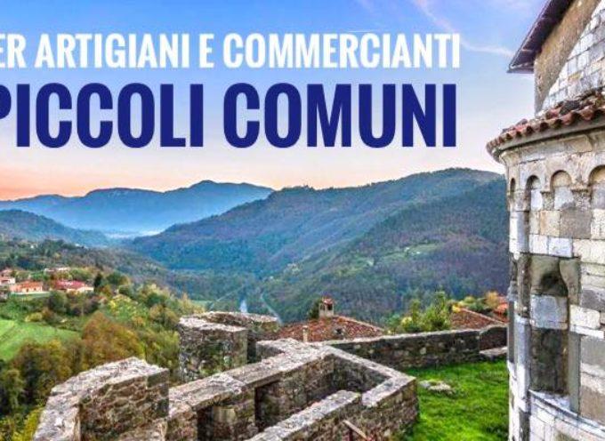 FONDI PER ARTIGIANI E COMMERCIANTI DEI PICCOLI COMUNI ITALIANI