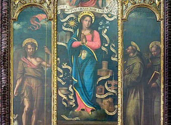 l' IMMACOLATA CONCEZIONE DI MARIA, la festa mariana più significativa per tutti i francescani.