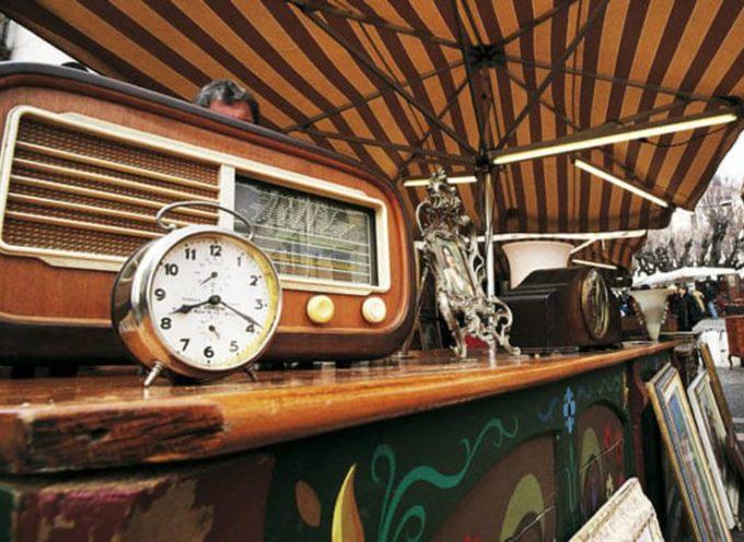 Domenica 13 Dicembre nel centro storico si svolgerà un mercatino dell'antiquariato