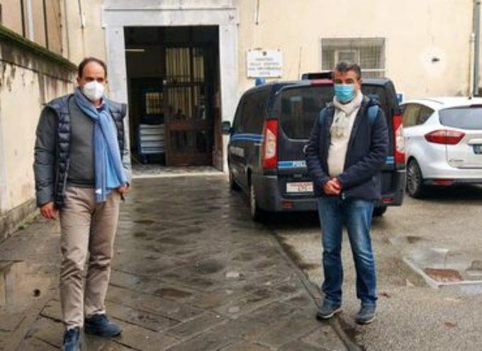 Ogni anno visito diverse volte le carceri italiane ed almeno due volte, quella della mia zona, Lucca.