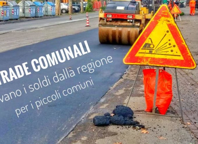 Uno dei problemi ricorrenti dei piccoli Comuni è la manutenzione delle strade.