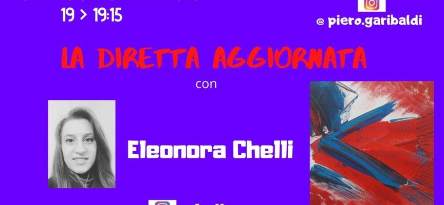 """LA PITTRICE ELEONORA CHELLI A """"LA DIRETTA AGGIORNATA"""" SUL CONTATTO CON IL PUBBLICO"""