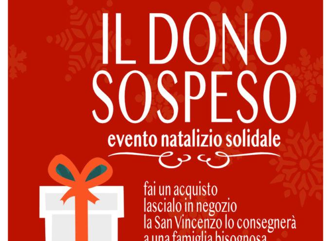 """la San Vincenzo de' Paoli lancia l'evento solidale """"Il donosospeso"""" a beneficio delle famiglie meno abbienti"""