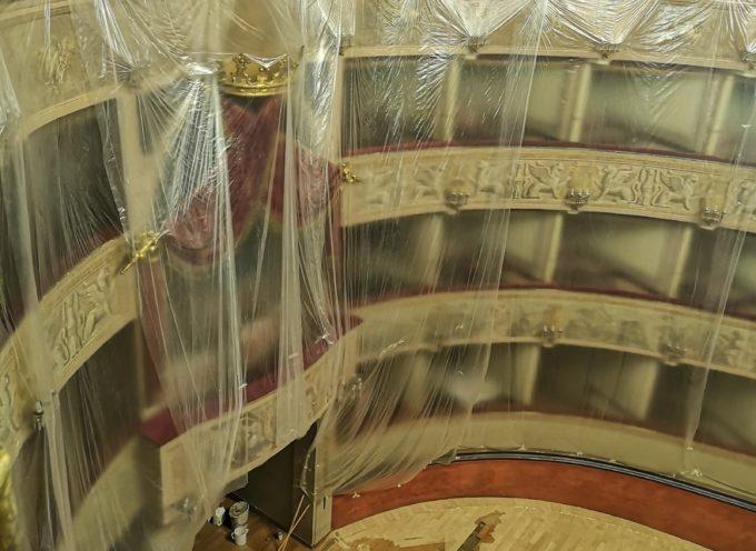 In corso i lavori al Teatro del Giglio per 1.5 milioni di euro: