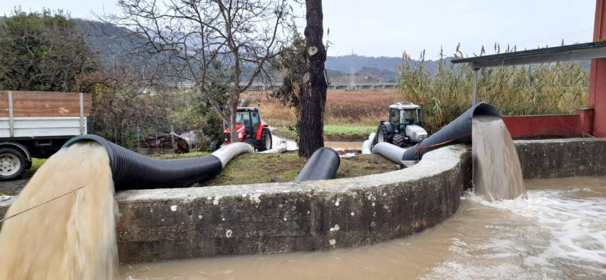Tregua Maltempo: occhi puntati sul Lago e lavori in corso per presidiare la rete dei canali