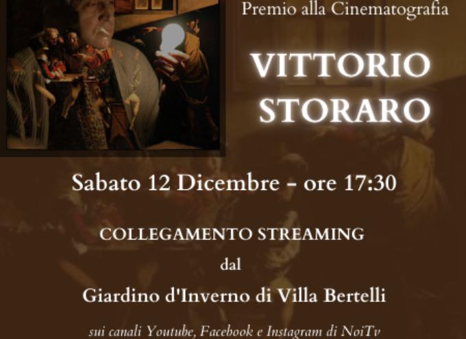 VILLA BERTELLI – Il Premio Pavlova 2020 a Vittorio Storaro