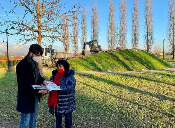 Iniziati i lavori per la riqualificazione del parco pubblico di Capannori
