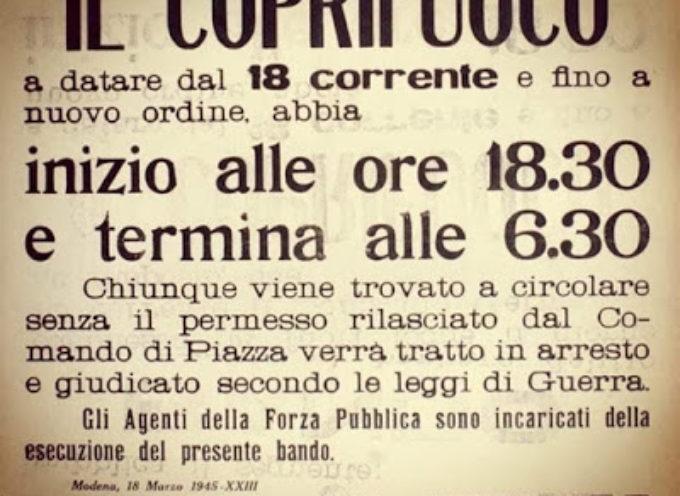 """Quello che fu il """"vero"""" coprifuoco: Garfagnana 1943"""