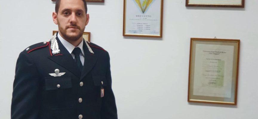 L'ex Maresciallo Pasquale GIORDANO, già vice Comandante della Stazione Carabinieri di Borgo Giannotti – è stato promosso Sottotenente
