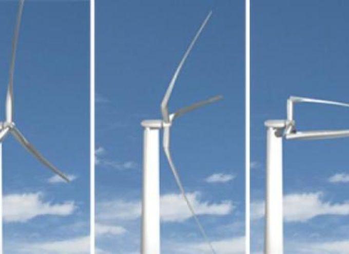 Nuova turbina eolica per zone con venti deboli