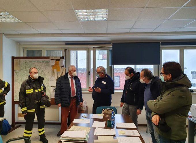 Il Centro Intercomunale di Protezione Civile della Garfagnana ha ricevuto ieri mattina la visita del Governatore della Regione Toscana Eugenio Giani,
