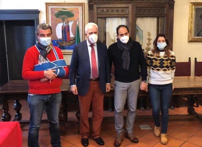 In Garfagnana con il Presidente Eugenio Giani e il senatore Andrea Marcucci,